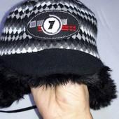 Зимова шапка Broel на 5-7років, обхват голови 49см