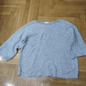 Меланжевый свитер-44 раз