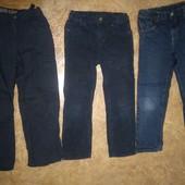 Джинсы, вильветы и хлопковые брюки 8-9 лет, 122-143 см