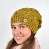 Шикарная качественная очень тёплая зимняя шапка