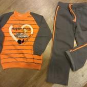 Спортивный костюм с начесом для девочки 122-128 рост