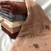 Кухонное полотенце Кофе 25х50 см, в лоте 1 шт., по ставке можно взять еще.