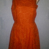 Красивое и дорогое кружевное платье Zara