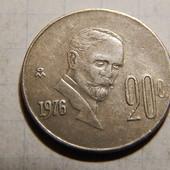 Монета. Мексика. 20 сентаво 1976 года.