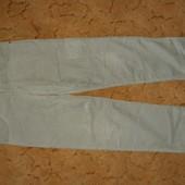 Тёплые микровельветовые брюки