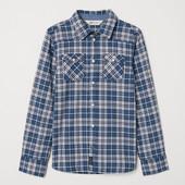 Хлопковая рубашка H&M 104,122. Премиум качество