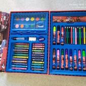 Огромный!! Набор для творчества, рисования 68 предметов! В кейсе-органайзере