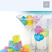 Лёд многоразового использования, для охлаждения напитков /3 штучки/