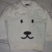Плюшева кофта или свитер 86/92, на выбор