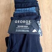 Школа!!! лот 6 пар носки гольфы безразмерные George смотрите описание