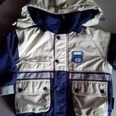 Фирменная куртка, размер 98.