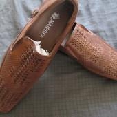 Стильные НОВые туфли для мальчика в школу