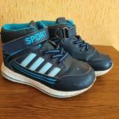 Кроссовки-ботинки лёгкие на сменку - для улицы стелька 17 см