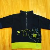 2 тёплых свитера одним лотом Р. 98-104