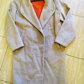 Zara шерстяное пальто суперовое мое