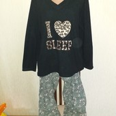 Пижама размер L/XL замеры на фото
