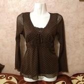 Безумно-красивая блуза на худенькую✓Польша✓Как новая✓Такая одна✓См.мои лоты✓