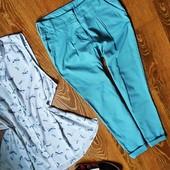 Шикарні, ніжно - голубі штанішки Dorothy Perkins) ,