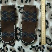 Теплые носочки-тапочки для мальчика