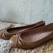 Кожаные балетки Next, размер 35-36 (по стельке 23 см) в идеале