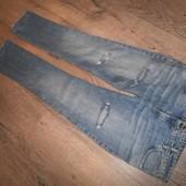 Мега стильные джинсы р.48 прекрасного сост.