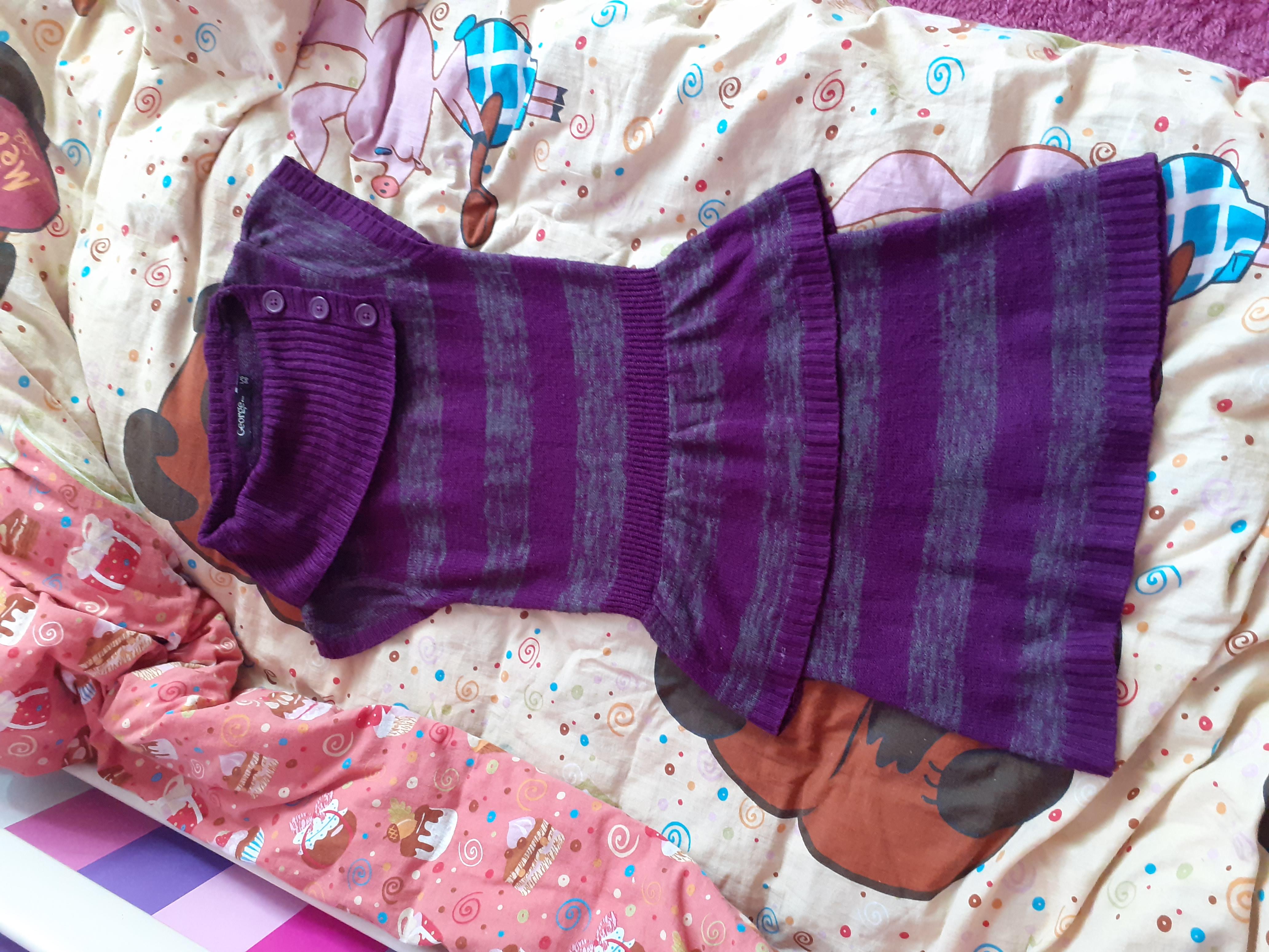 George акриловое платье с баской