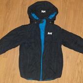 Стильная модная Деми курточка на мальчика 6-7лет замеры на фото