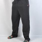 Мужские тёплые штаны с начёсом, Венгрия, полномерные, размер 48, 50, 52, 54