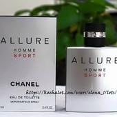 Аромат мечта,пленивший сердца женщин и мужчин! - Chanel Allure Homme Sport 100мл.