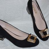 Для тех кто любит комфорт и стиль! МЕГА удобные туфельки 40 размер