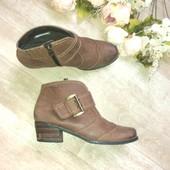 Осенние ботинки Tamaris. Кожа!