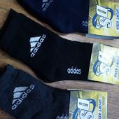 """☘Лот 2 пары☘ Носки детские махровые в стиле""""Adidas DS""""Турция,26-30 и 31-35"""