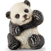 Фигурка schleich , играющая панда ,(шляйх).