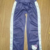 Модные спортивные штаны на девочку 5лет замеры на фото