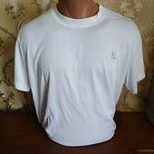 Мужская качественная футболка бренда Adidas. Размер L.