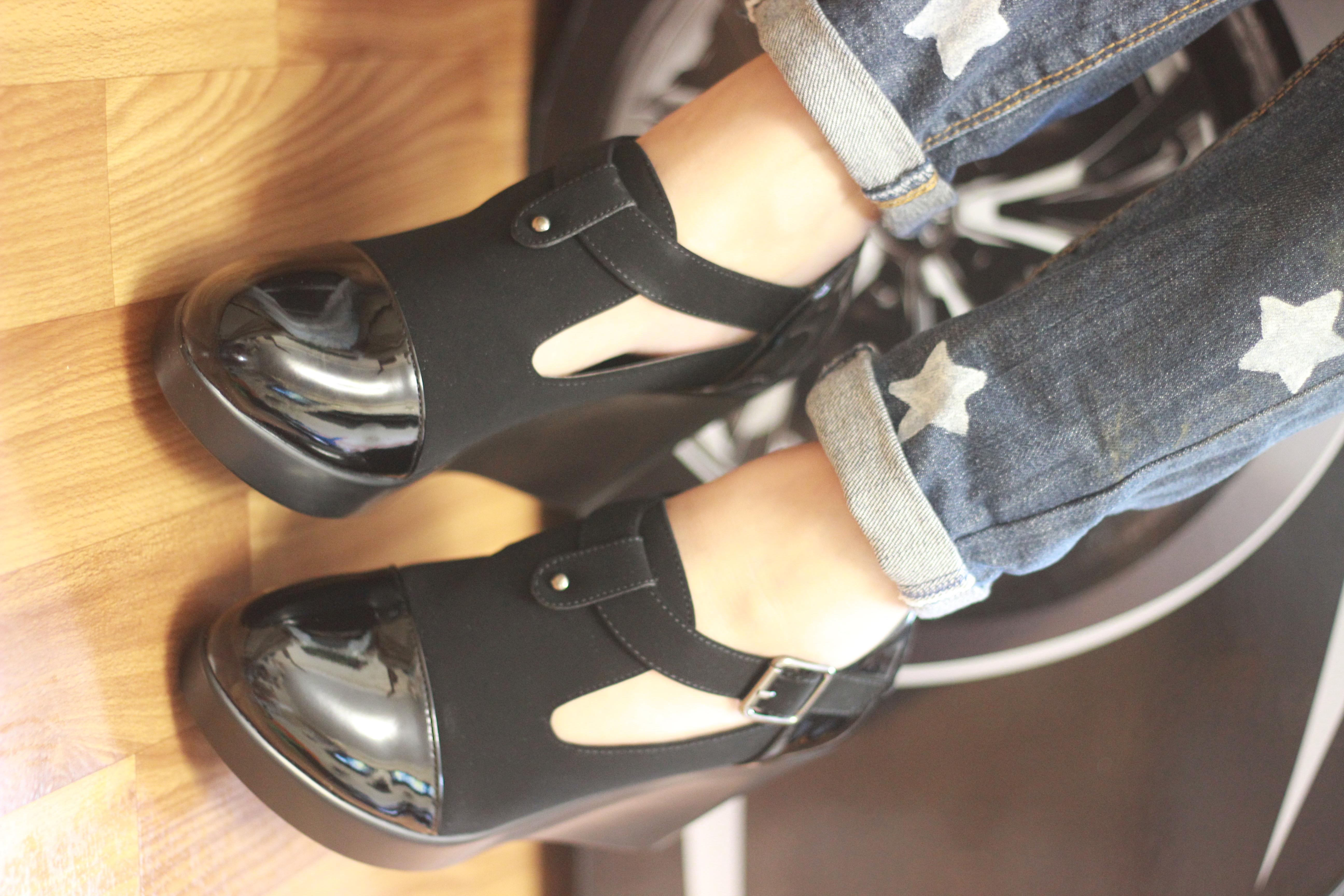 ****Туфли ботильоны на платформе, черного цвета, последние размеры 37,39,41!!!УП -5%!!! - Фото №1