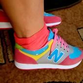 Стильные кроссовки в стиле NewBalance