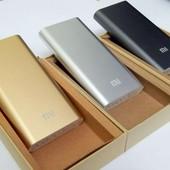 Внешний аккумулятор Power bank Mi (копия Xiaomi) i7s павербанк, зарядка