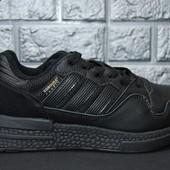 510-1 (45) Мужские кожаные кроссовки Adidas Originals! Новая коллекция