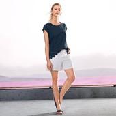 Белые летние шорты tcm tchibo Германия, размер 36/38 евро