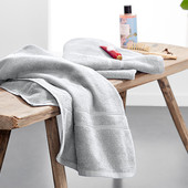 ☘ Мягкое махровое полотенце из органического хлопка, Tchibo(Германия), 100*50 см