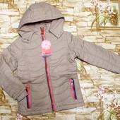 Красивая куртка Grace на флисовой подкладке с синтапоном 134,164 р.последние!