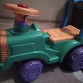 Машина-трактор,беговел