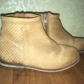 Деми ботинки next 10, 18,3см стелька, кожа+лёгкий утеплитель