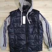 Куртка - жилетка демисезонная р.48