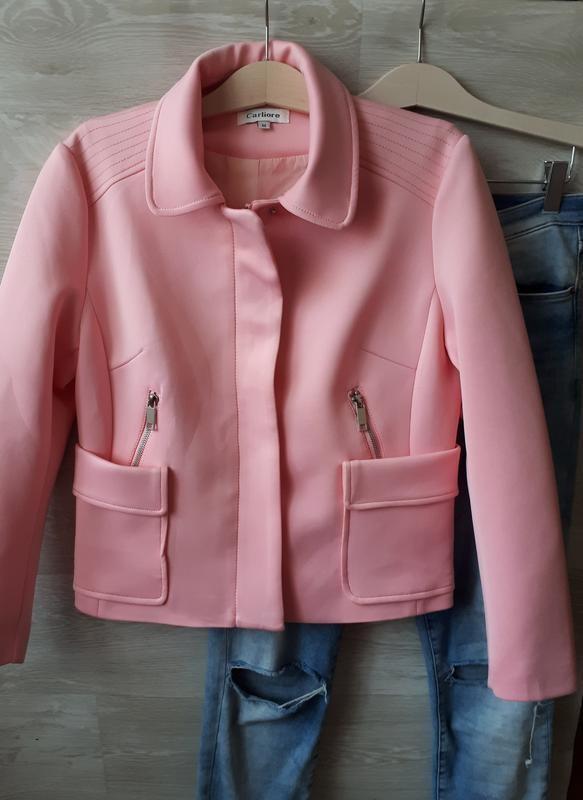 Пиджак из неопрена фото