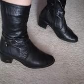 Зимові шкіряні черевики. Р.36.