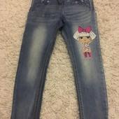 Для шанувальниць LOL Неймовірні джинси George 6-7 років, зріст 116-122
