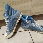 Демисезонные кеды-ботинки ВК в хорошем состоянии на каждый день. Размер 41
