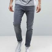 Фирменные мужские серые джинсы Dolce&Gabbana. Италия. размер 30 (М)